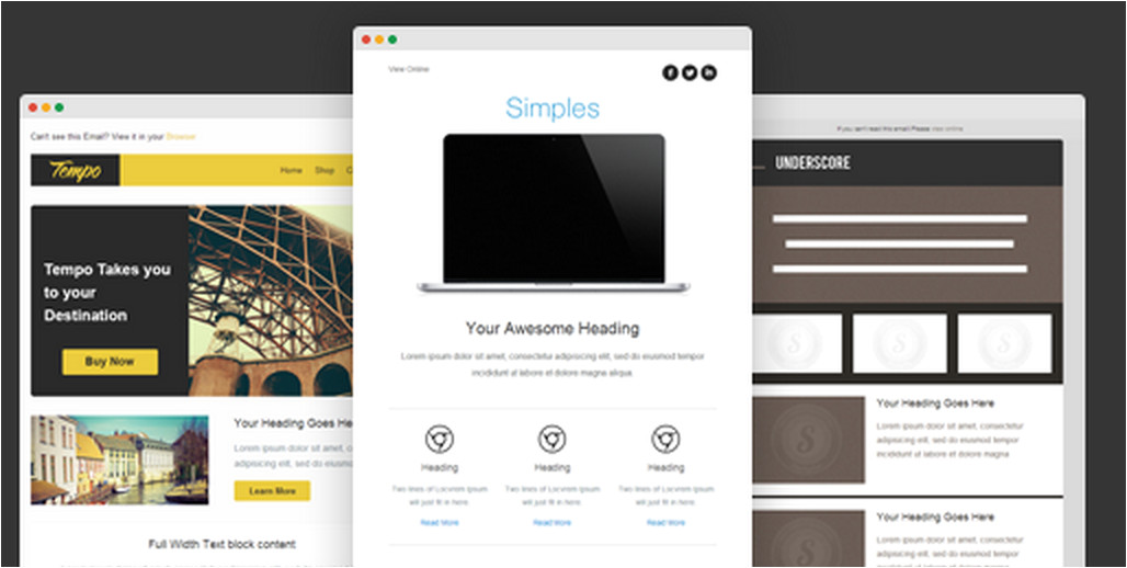 how to make responsive email template