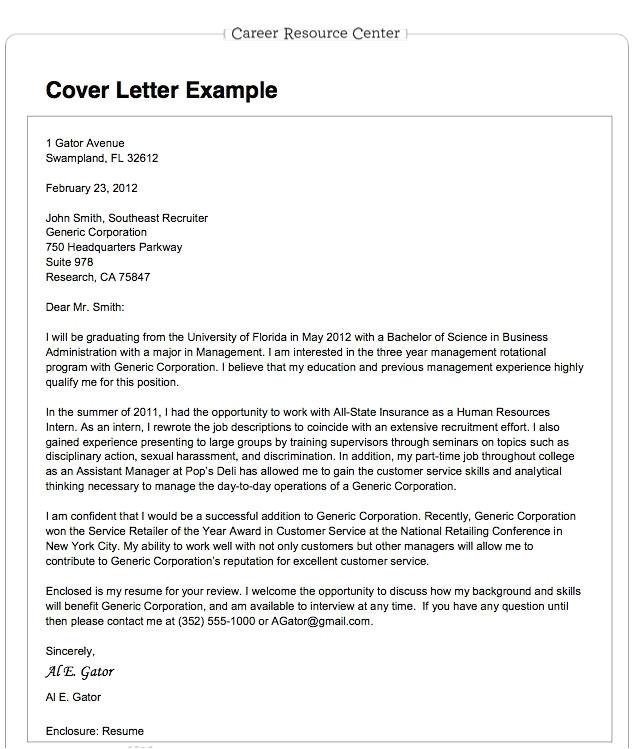 impressive cover letter job application