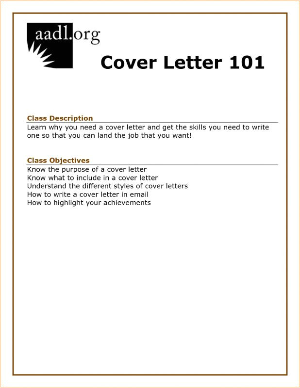 how to write a cover letter for a job application