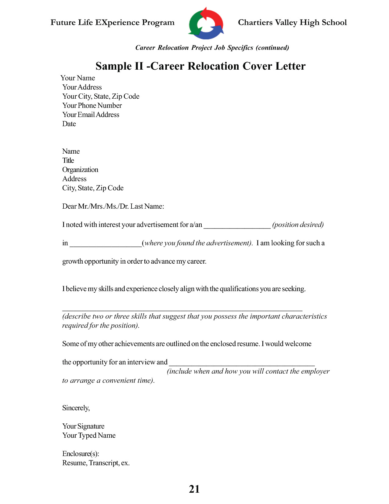 post employee relocation letter sample 2466