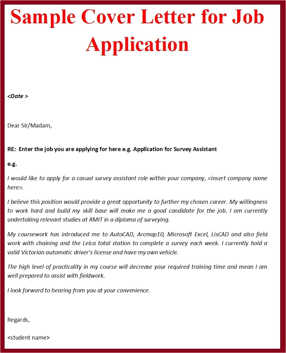how to create a cover letter how to make cover letter for job application