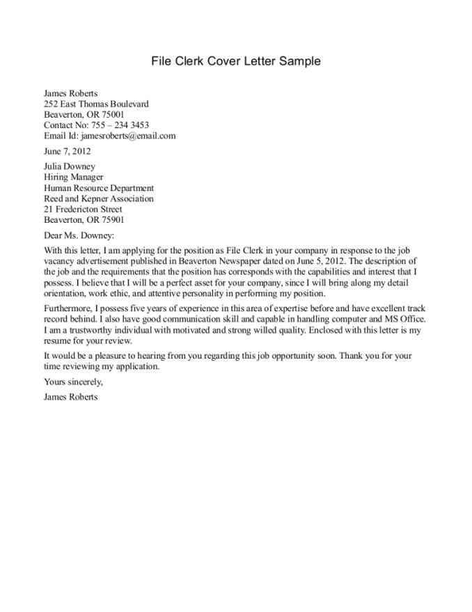 How to Prepare A Covering Letter How to Write Cover Letter Sample Resume Badak