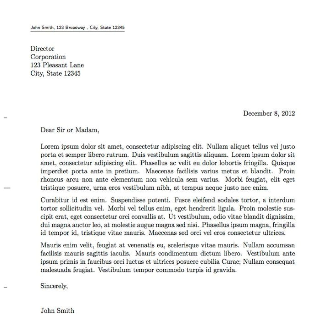 How to Properly Write A Cover Letter How to Write A Proper Cover Letter Michael Resume