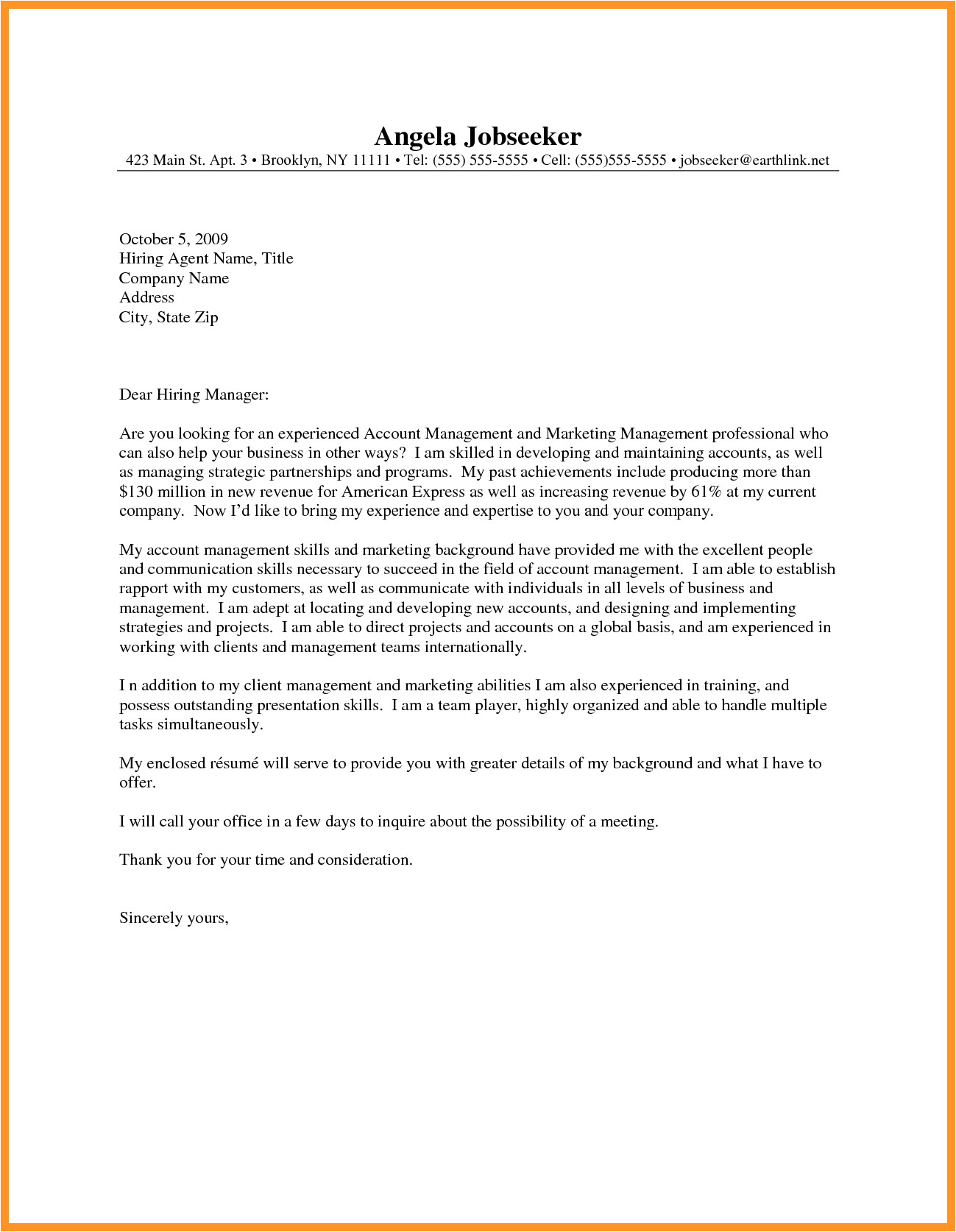 how to write cover letter for resume