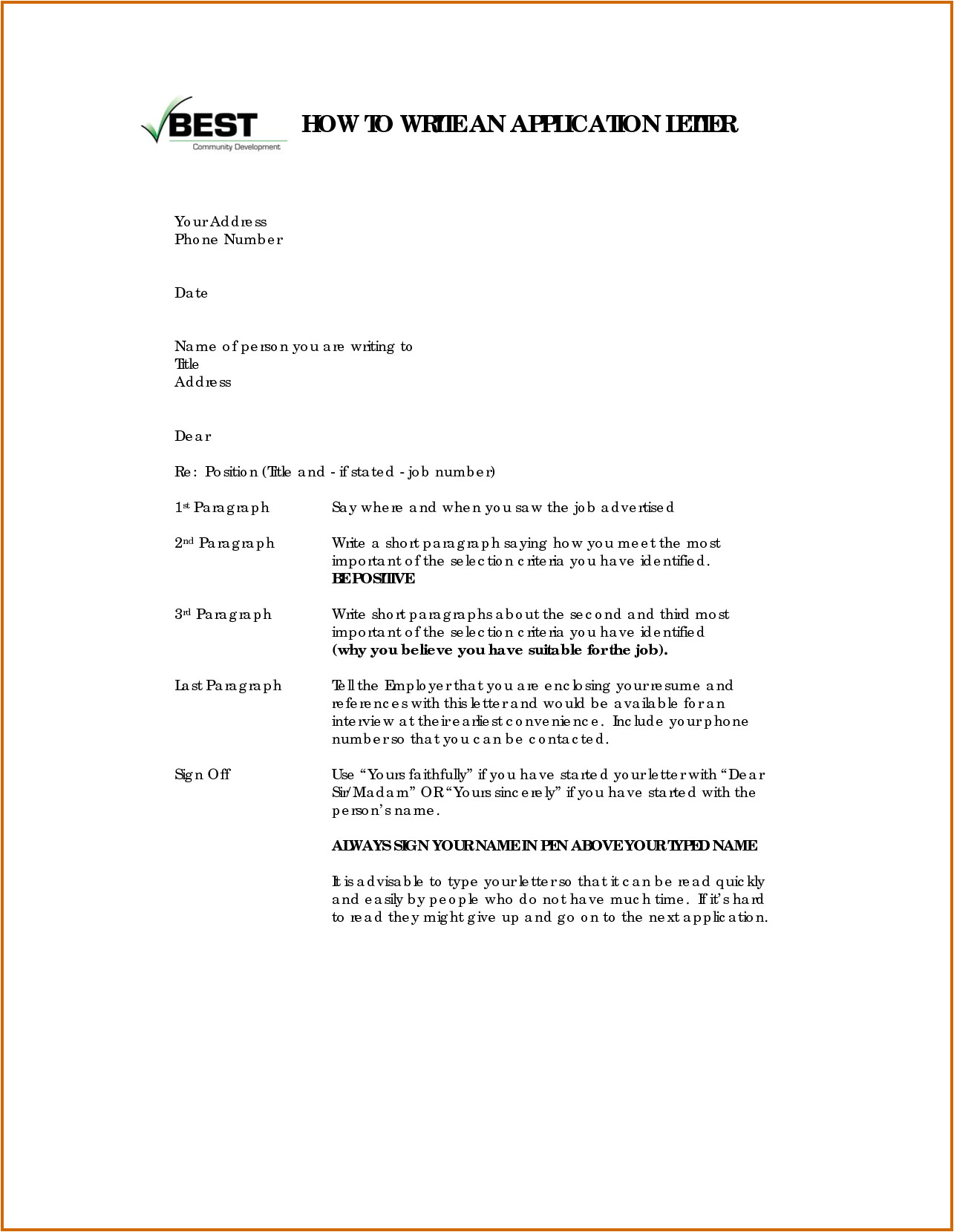 How to Right A Covering Letter 11 How to Write Applications Letters Lease Template