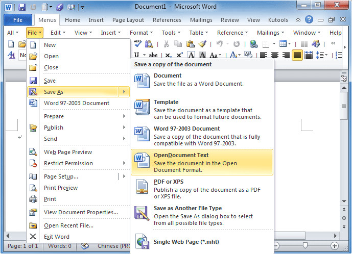 How to Save A Template In Word where is Save as Command In Office 2007 2010 2013 and 365