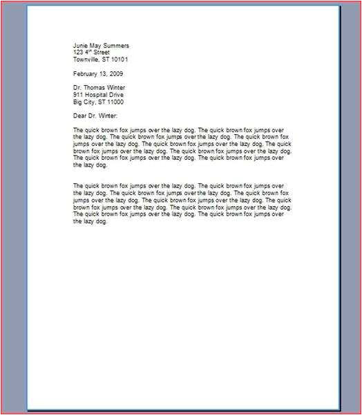 How to Type Cover Letter for A Job How to Type A Cover Letter for A Resume Ehow