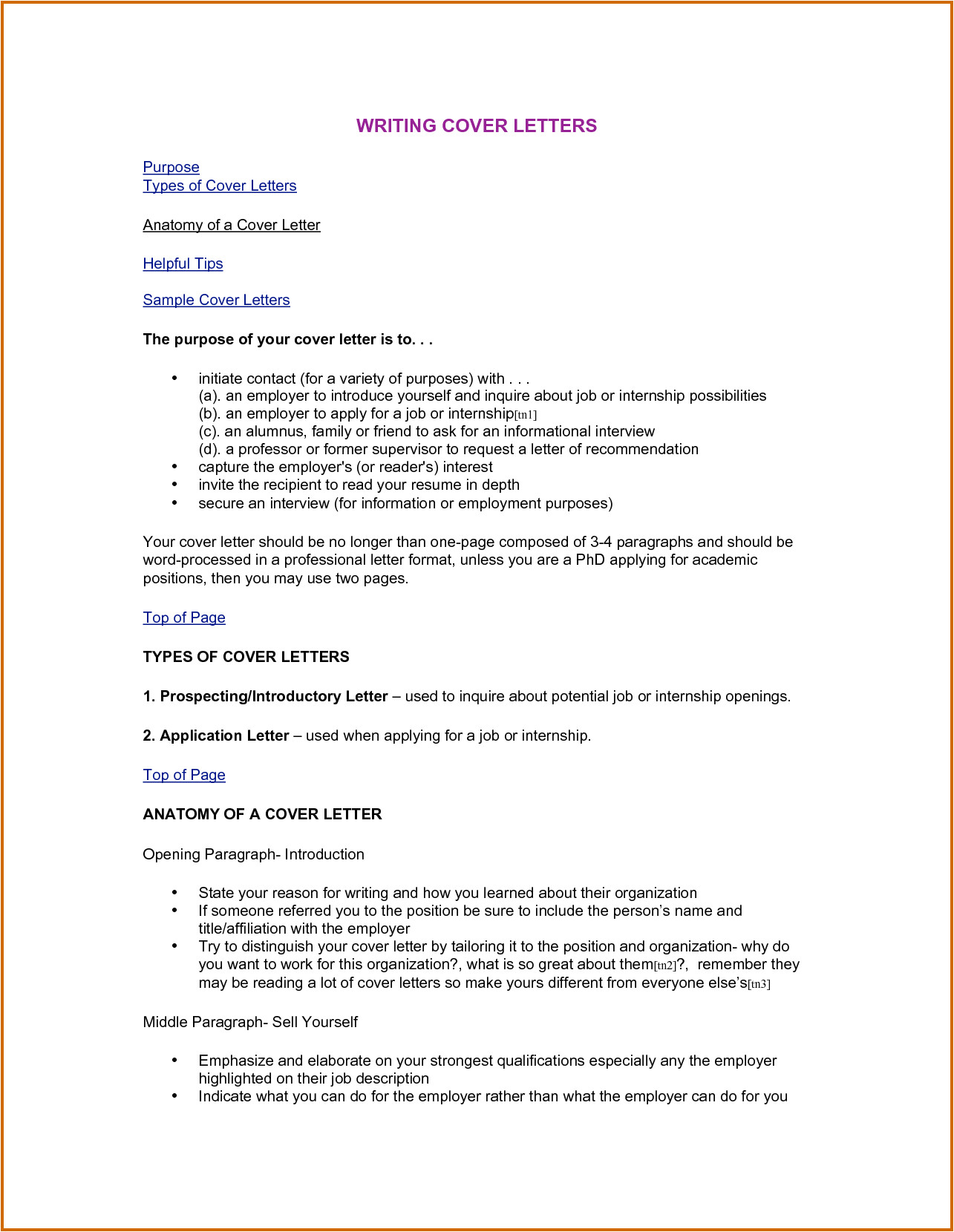 15 how to type a cover letter