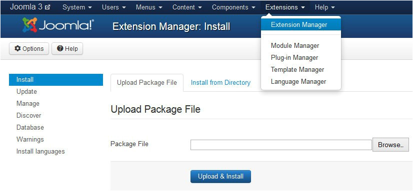 How to Upload A Template In Joomla How to Install A Joomla Template