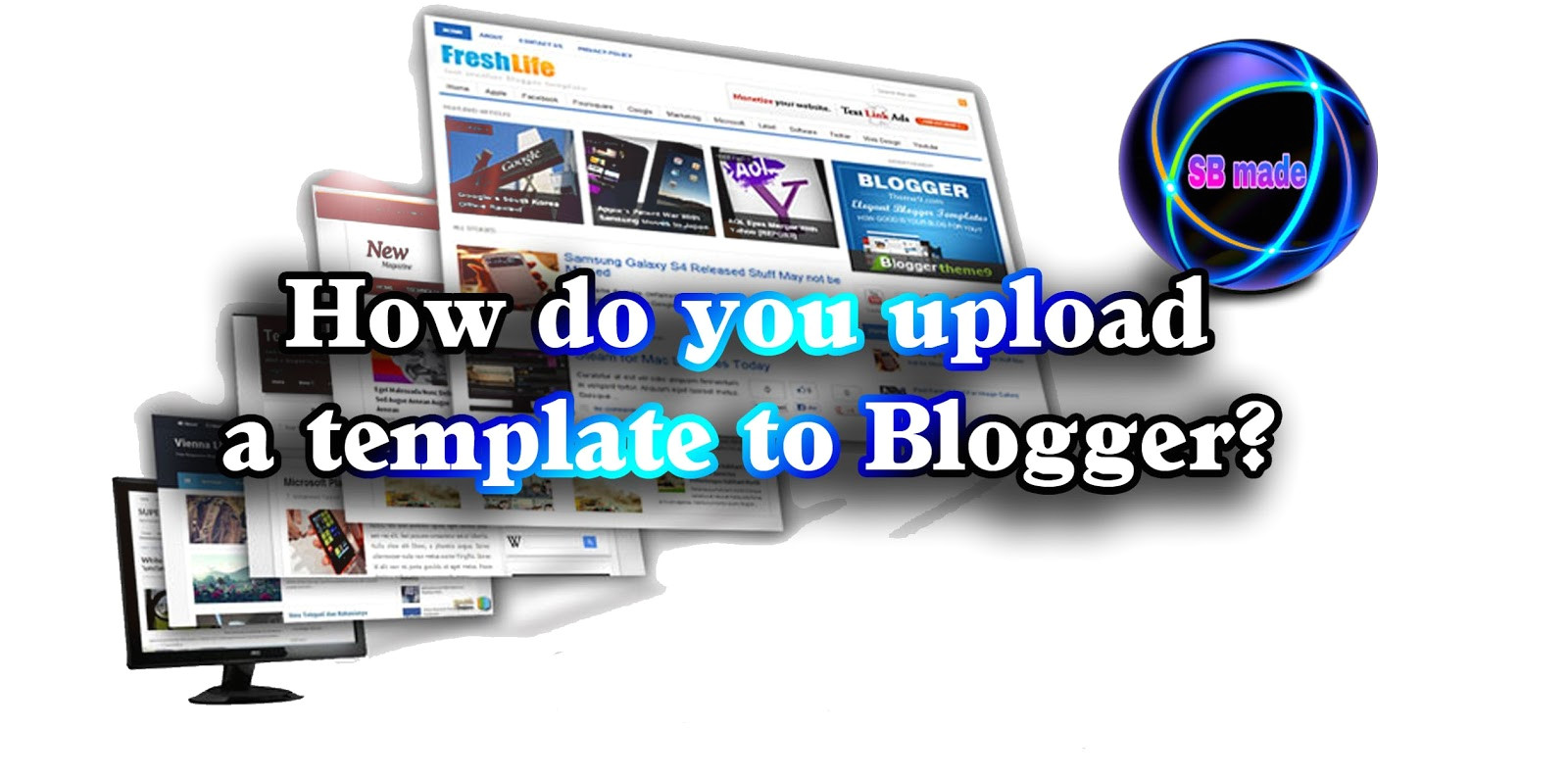 how do you upload template to blogger