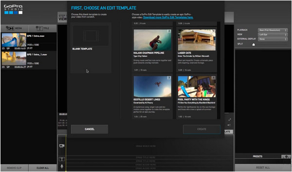 How to Use Gopro Studio Templates How to Use Gopro Studio to Edit Gopro Videos
