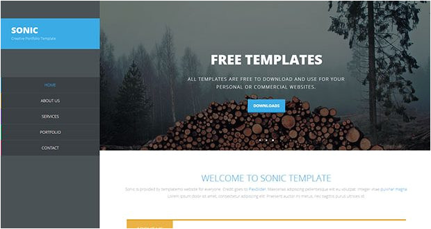 free brochure templates psd download