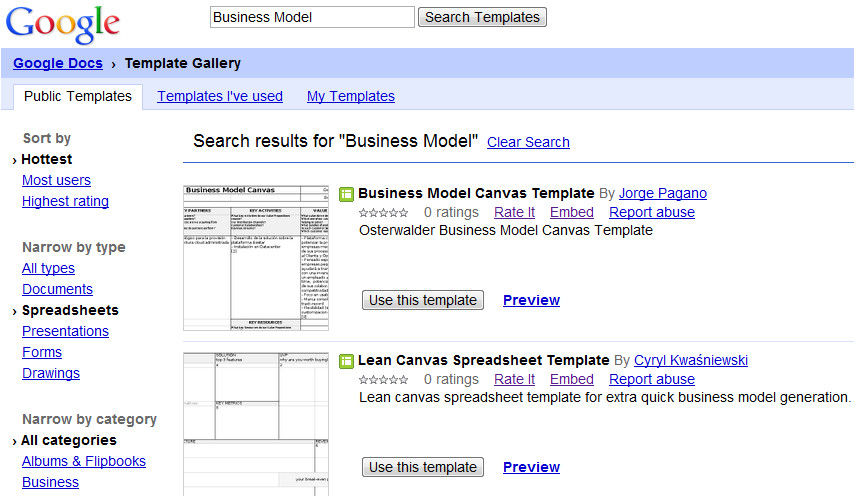 business model canvas template word 548