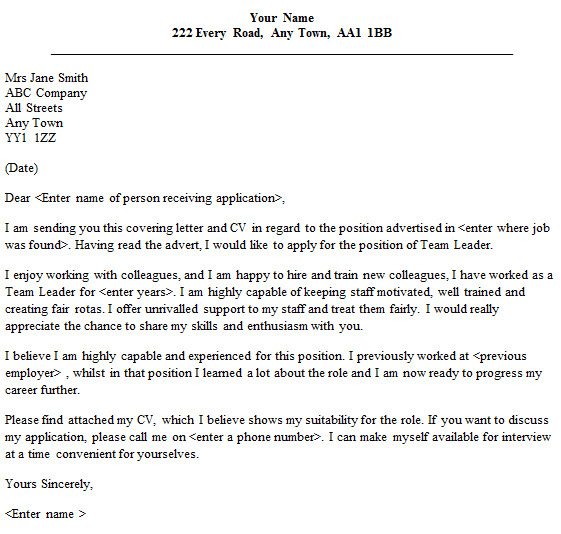 4903 for letter application it job cover example