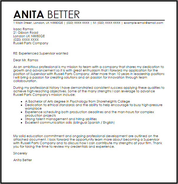 How to Write A Cover Letter for A Leadership Position Resume Acierta Us New Sample Resume