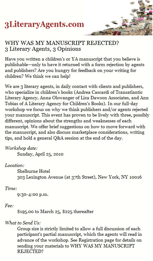 How to Write A Cover Letter for A Literary Agent 3 Literary Agents Workshop Writing and Illustrating