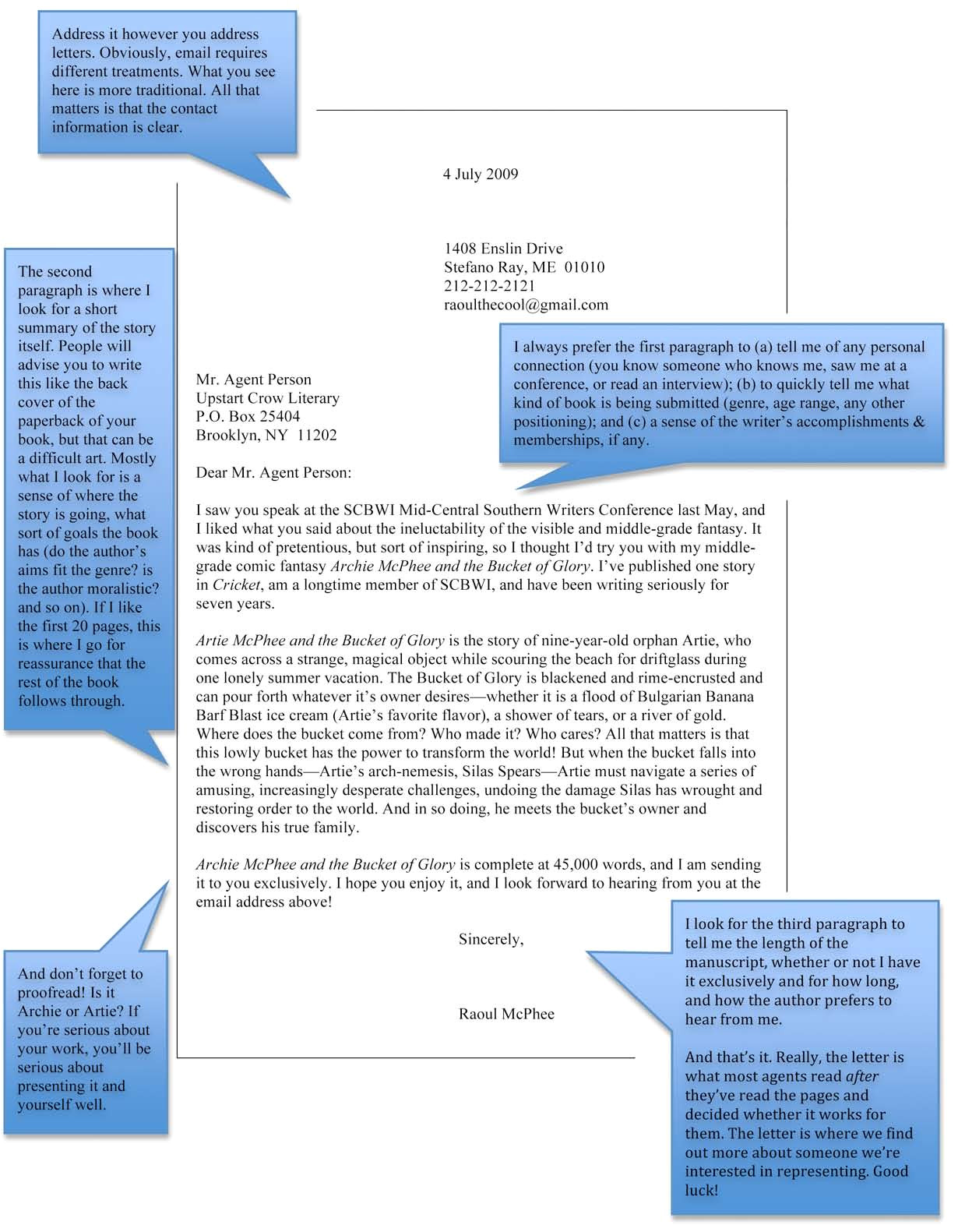 How to Write A Cover Letter for A Literary Agent How to Write A Query Letter Upstart Crow Literary