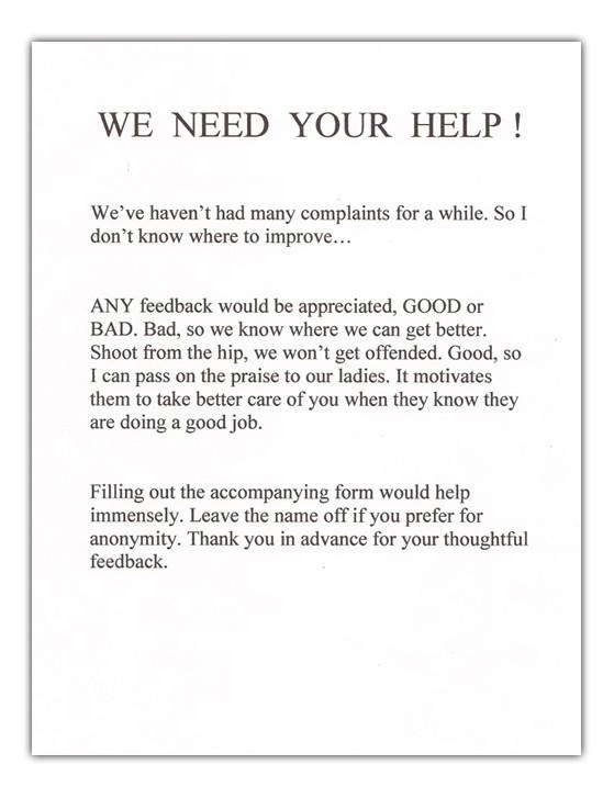 cover letter for survey