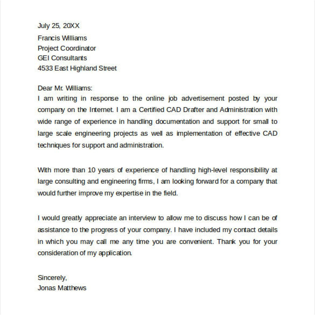 proper sample relocation cover letter