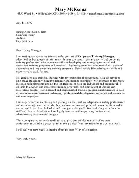 cover letter for paper