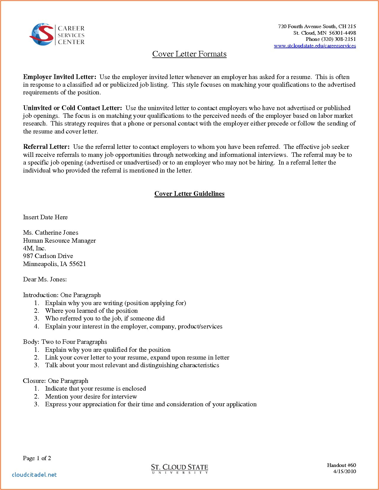 How to Write A Cover Letter for An Advertised Job Cover Letter Examples Job Not Advertised New How to Write