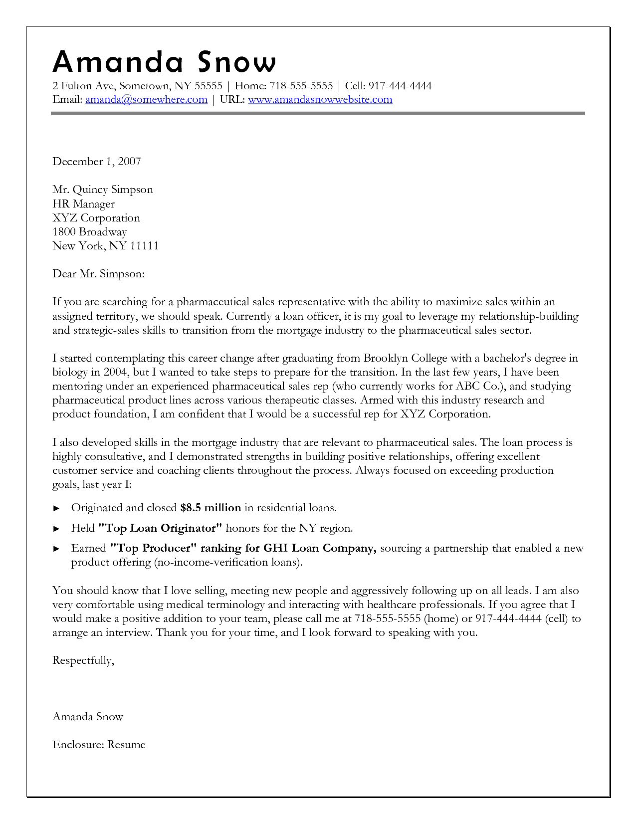 How to Write A Cover Letter for Career Change 10 Sample Of Career Change Cover Letter
