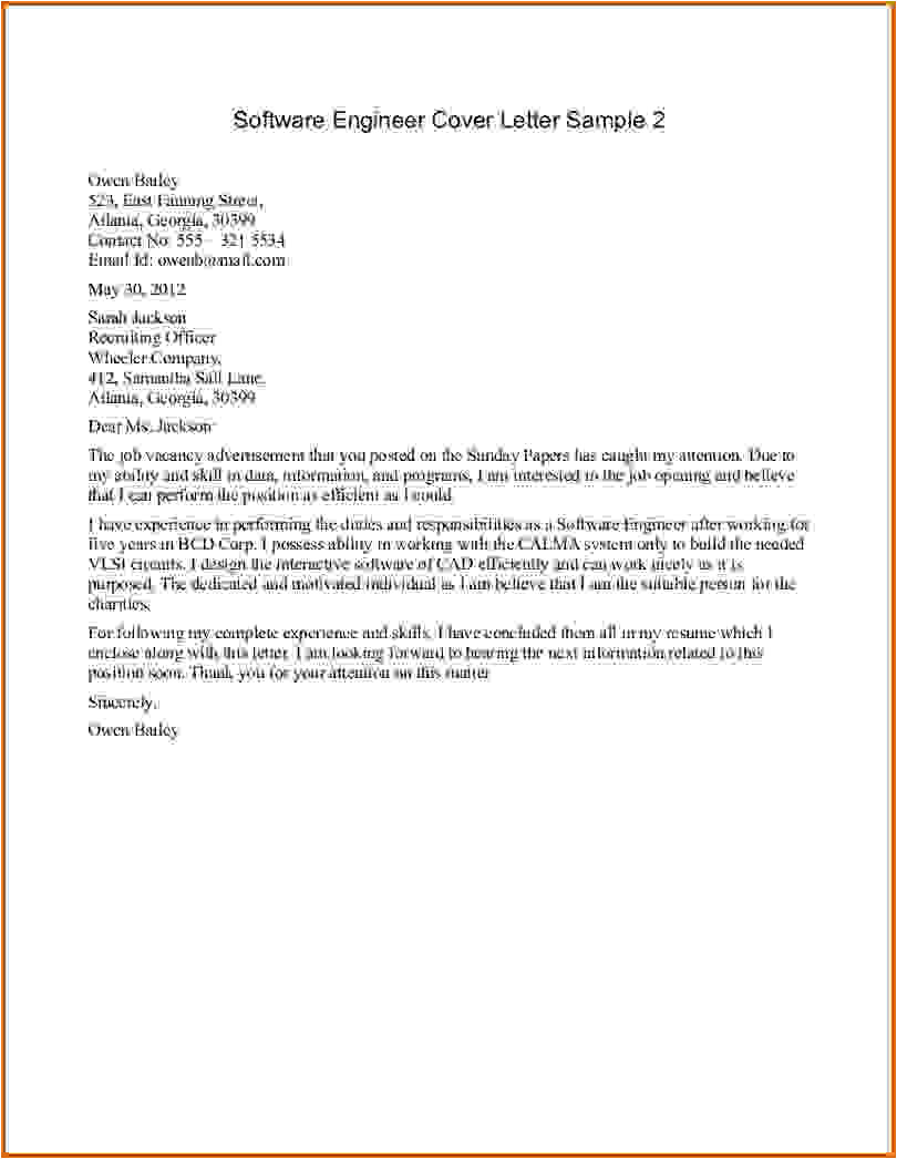 16 how to write cover letter engineering