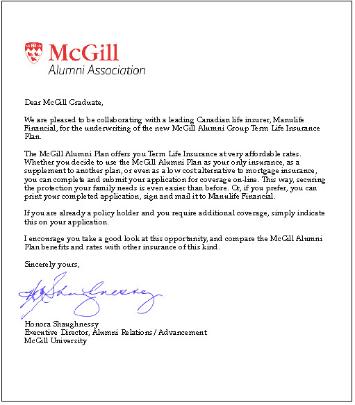 How to Write A Cover Letter Mcgill Writemyessayz College Essay Papers Written From Scratch