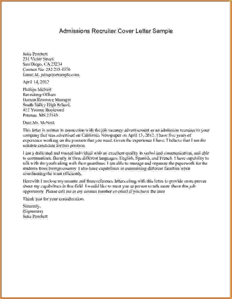 cover letter for mba admission