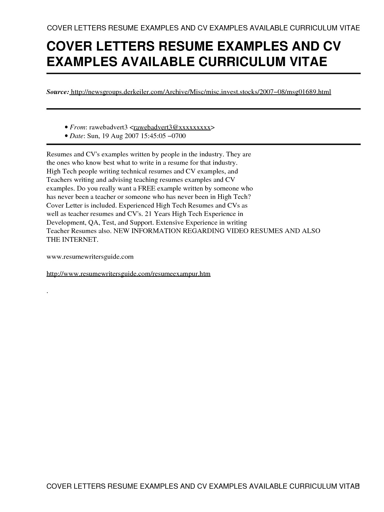How to Write A Cv and Cover Letter Sample How to Write A Resume Cover Letter Sample Letters Free