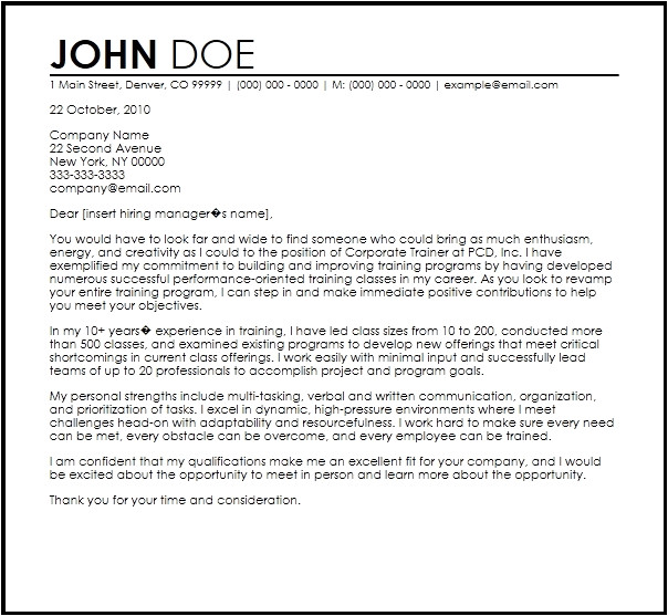 How to Write A Dynamic Cover Letter Dynamic Cover Letters Letter Of Recommendation