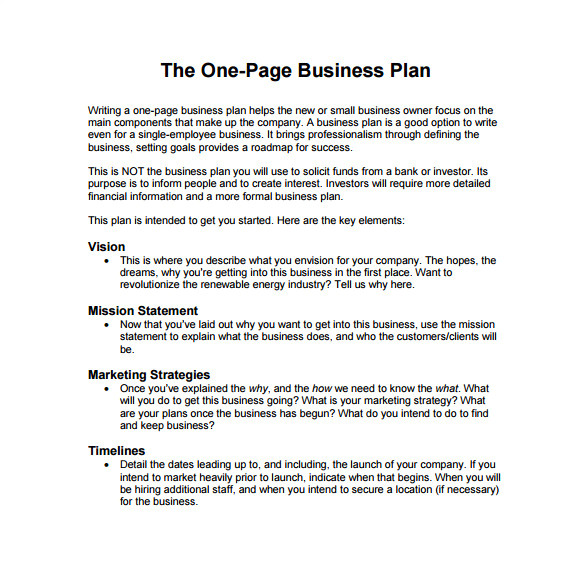 How to Write A Good Business Plan Template Business Plan format Template Business Letter Template