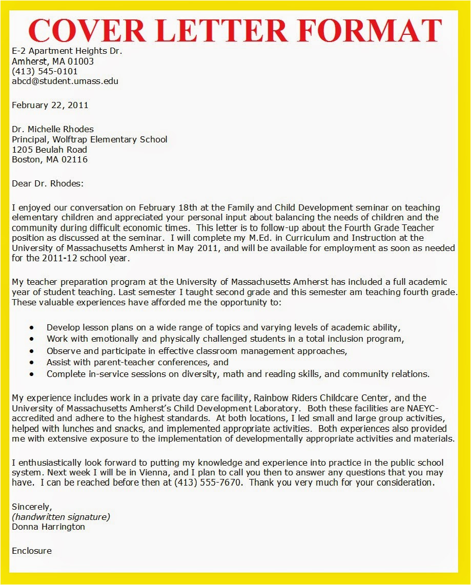 How to Write A Good Cover Letter for Job Application Business Letter Examples How to Write A Cover Letter for