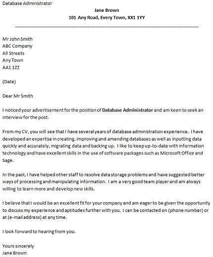 How to Write A Good Covering Letter for A Job Best Cover Letter for Job Application the Letter Sample