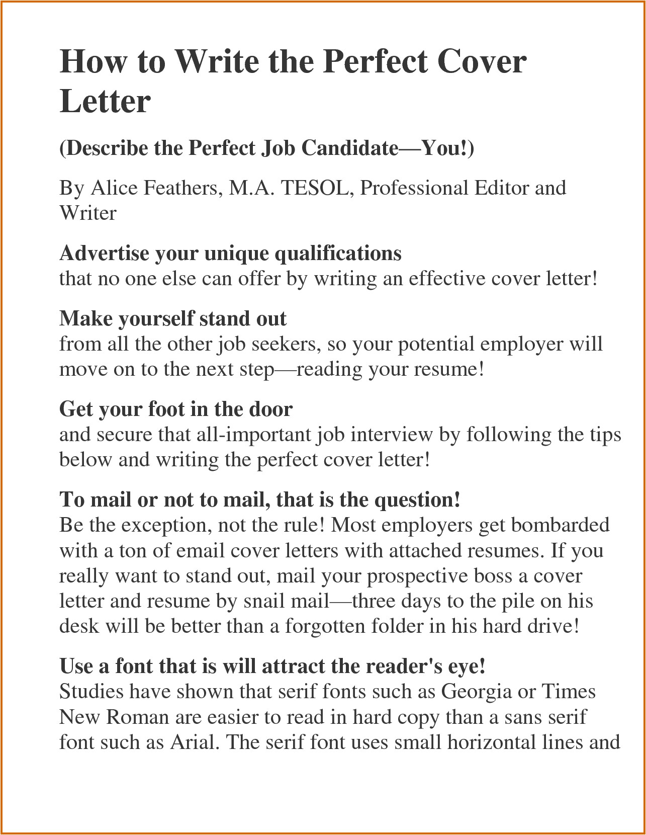 10 how to make an impressive resume