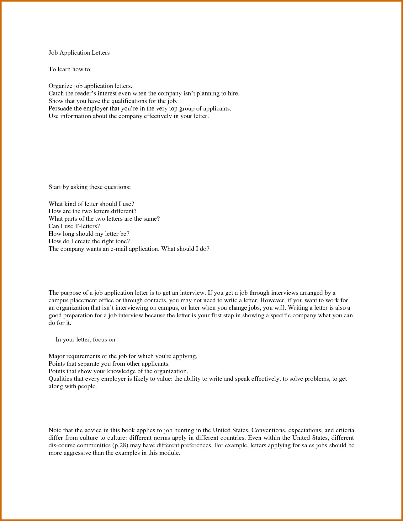 How to Write the Cover Letter for Job Application 8 How to Write A Medical Job Application Lease Template