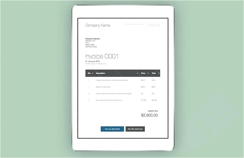 html receipt template invoice template html email invoice template free