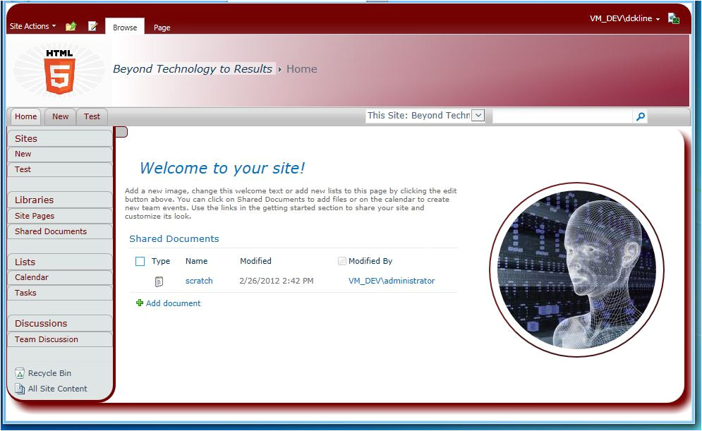 Html Master Page Template Sharepoint 2010 HTML5 Masterpage Templates Home