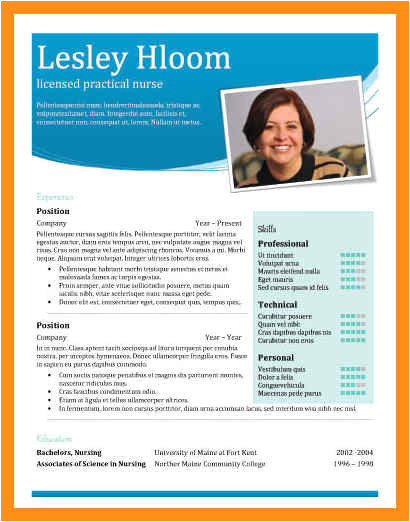 personal profile template word