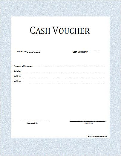 Html Voucher Template Cash Voucher Template Professional Word Templates