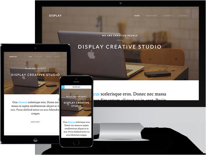 display free html5 template using bootstrap