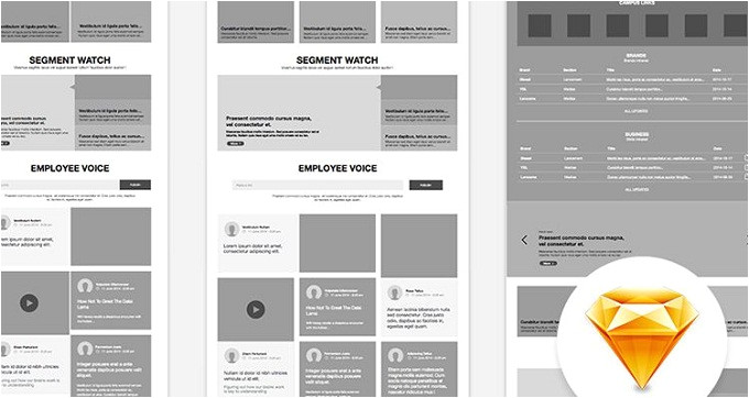 html5 wireframe template