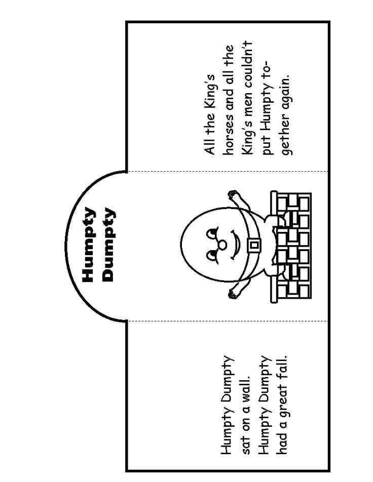 humpty dumpty puzzle template