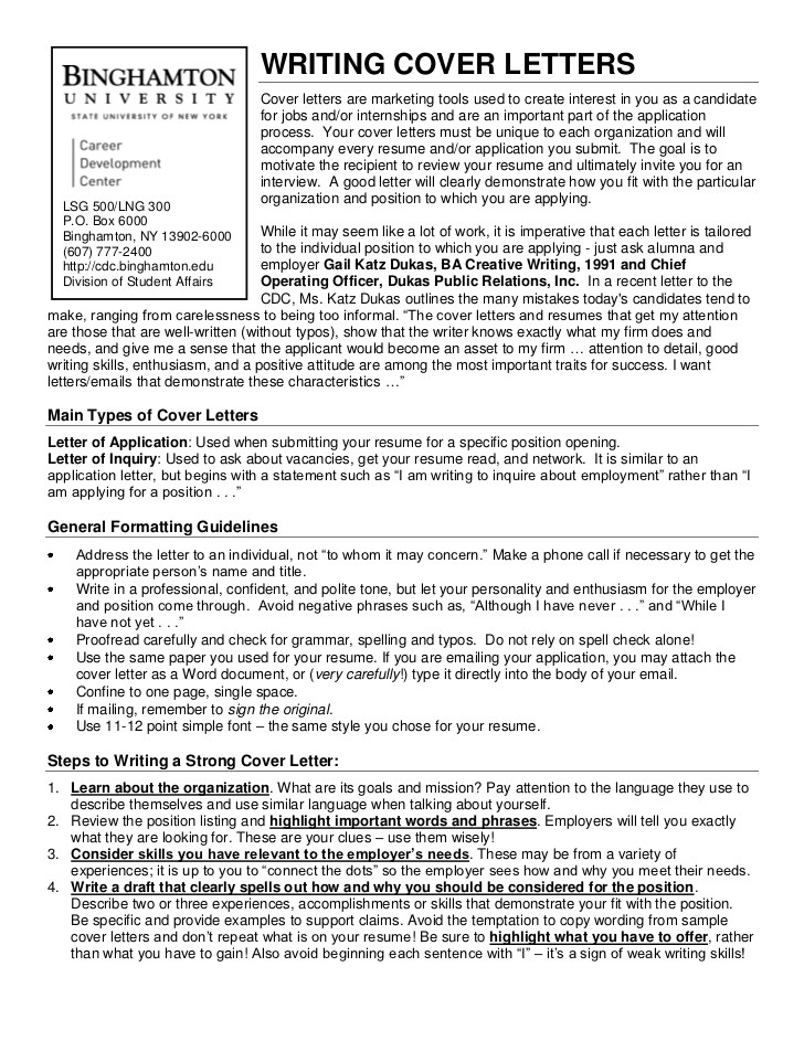 cover letter example quick learner