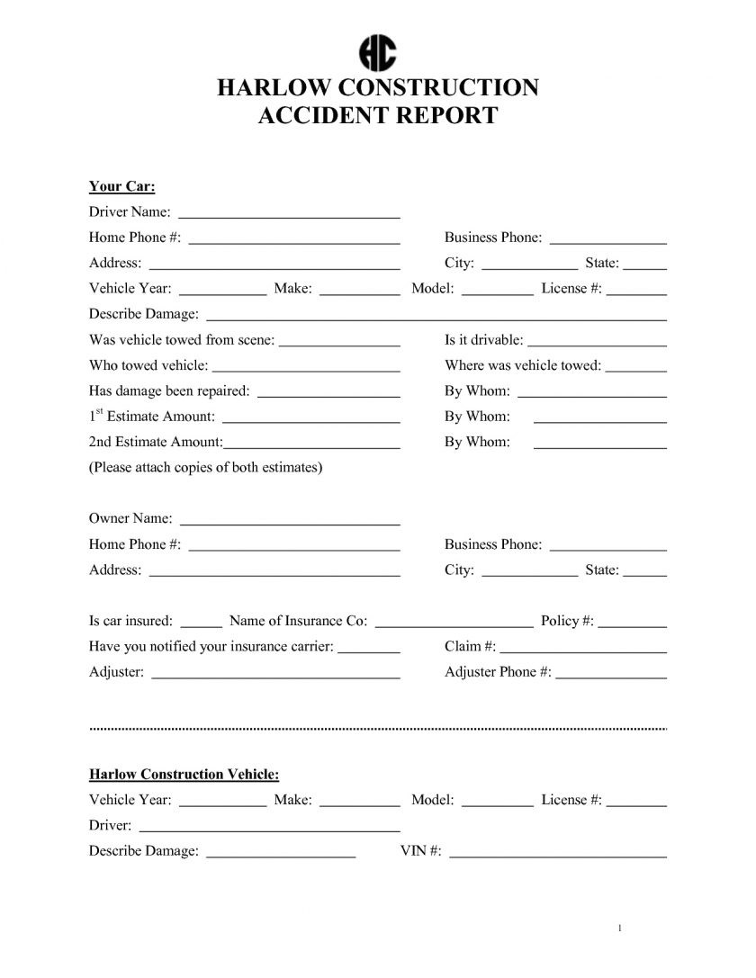 9 example of an accident report best of of sample fire investigation 4
