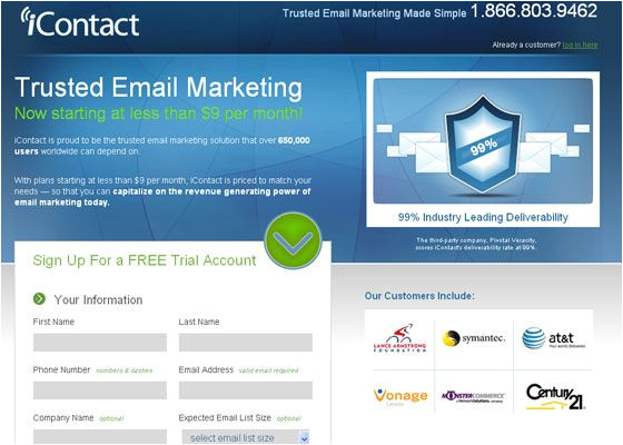 psd to icontact email template