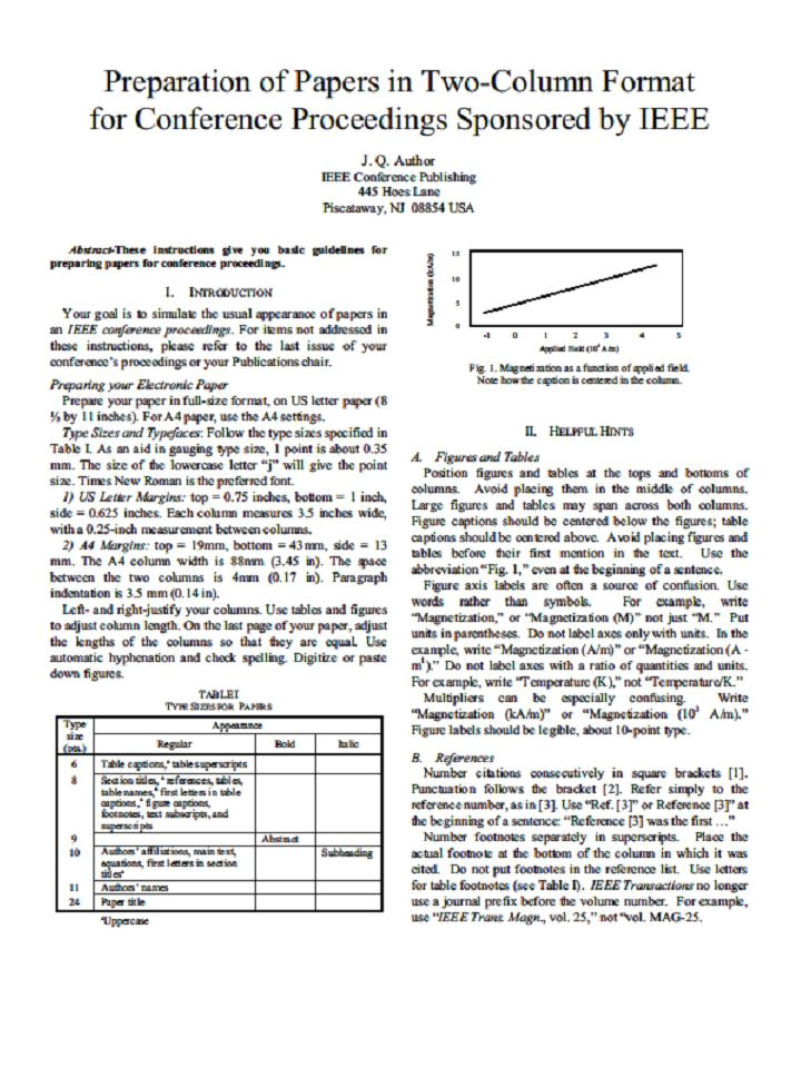 ieee paper template paper presentation in ieee format free download paper presentation format madratco free