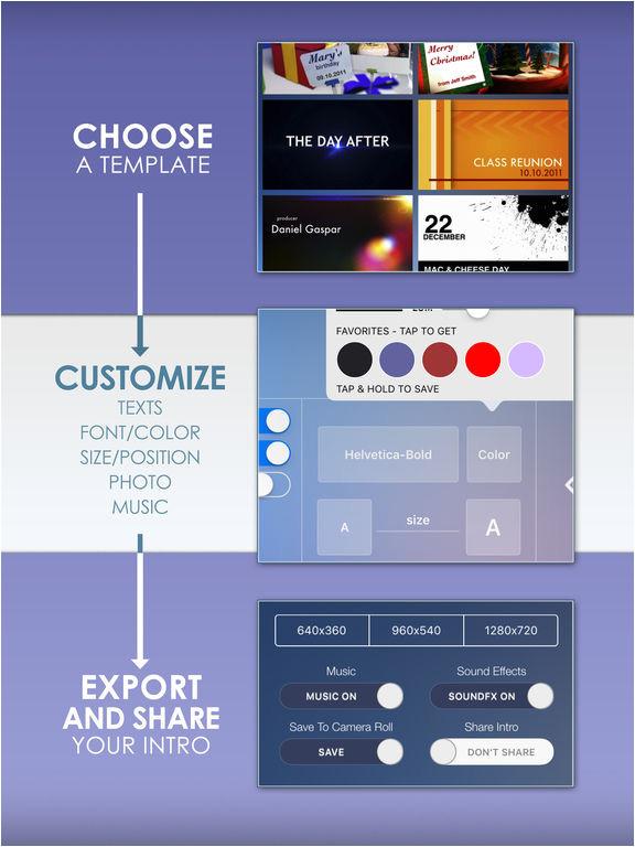 imovie intros templates