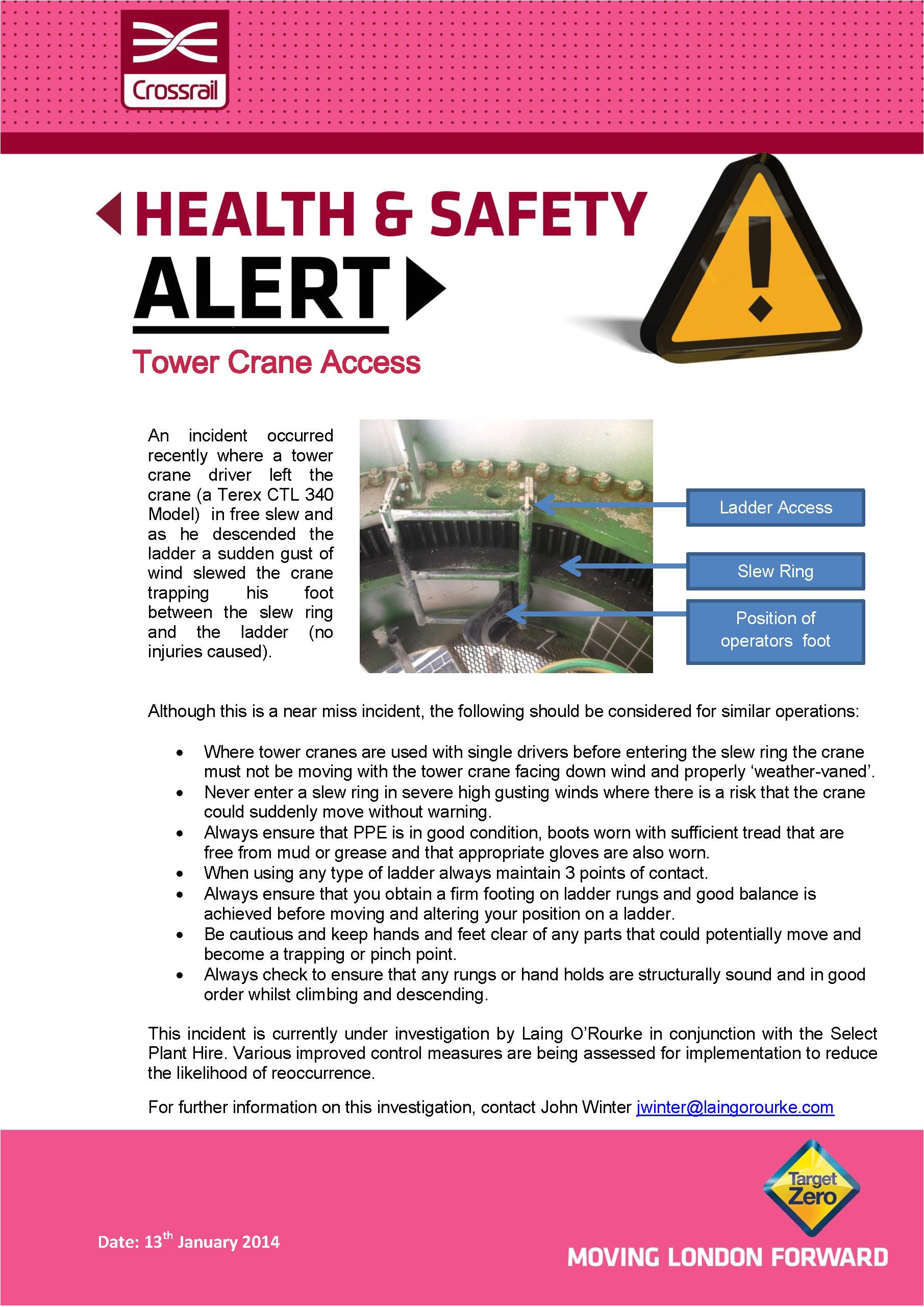 safety alerts
