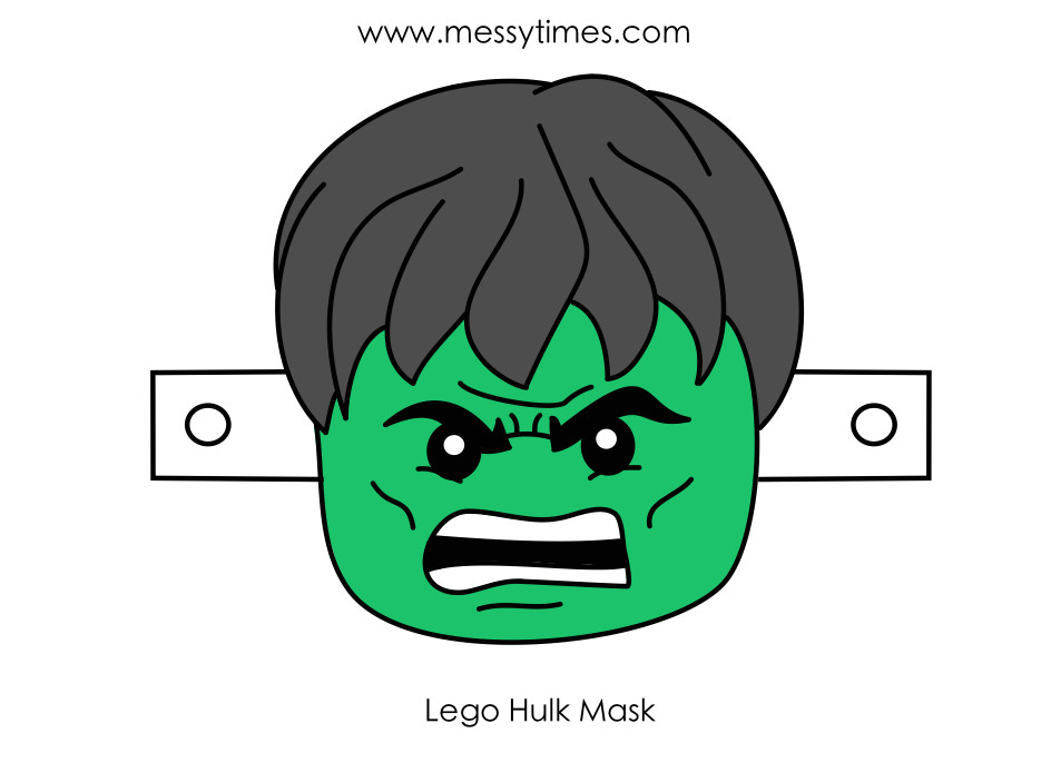 Incredible Hulk Face Template Best Photos Of Hulk Printable Mask Printable Hulk Mask
